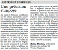 Le Comité de solidarité de Trois-Rivières légitime le terrorisme anti-israélien dans Le Nouvelliste, 27 juillet 2006
